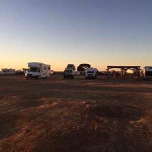 Free camping at Pimba