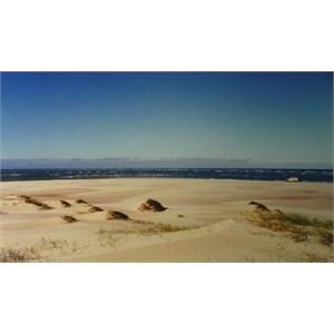 Sandy Cape sand spit