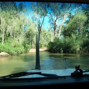 The Landy crossing Lawn Hill Creek