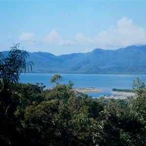 View from lookout behind Cardwell