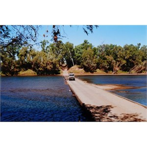 The old Fitzroy Crossing