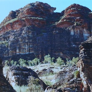Spectacular rock formations in Keep River NP