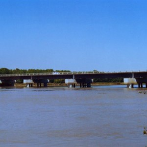 South Alligator River and bridge