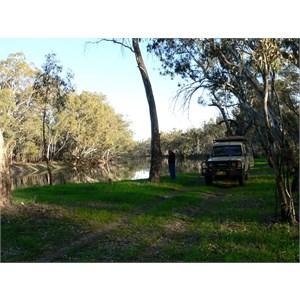 Last camp, beside the Murrumbidgee River