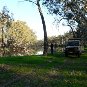 Last camp, beside the Murrumbidgee River