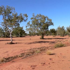 The Hay River, red sand and river red gums