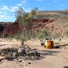Exploring the Northern Territory, June 2006. Part 5. Ruby Gap to Tennant Creek.