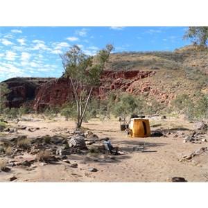 Camped at Ruby Gap