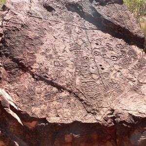 N'Dhala Gorge petroglyphs