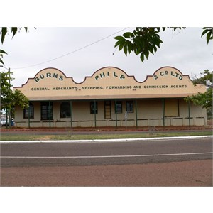 Burns Philp building, Normanton recalls earlier times.