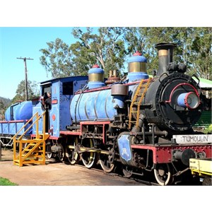 Old steam engine at Ravenshoe
