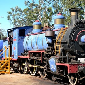 Old steam engine at Ravenshoe
