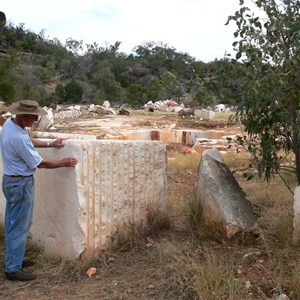 Marble quarry near Chillagoe