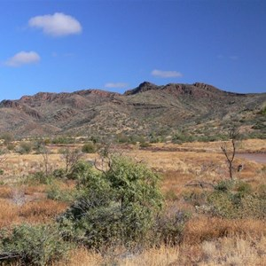 Approaching the northern Flinders Ranges