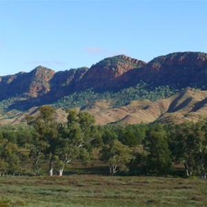 Aroona Valley and the Heysen Range
