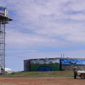Water tower and high tank, Boulia.