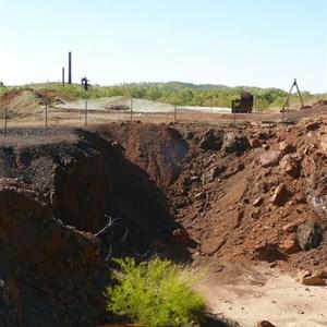 Mine site at Kuridala