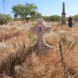 Kuridala cemetery.