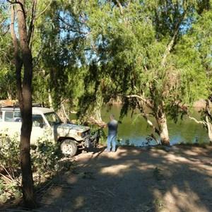 Flinders River camp
