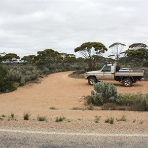 Turn Off from Eyre Highway