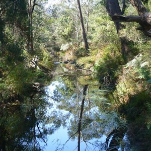 Pretty creek at Zumsteins