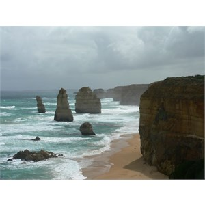 """Twelve"" Apostles, looking west"