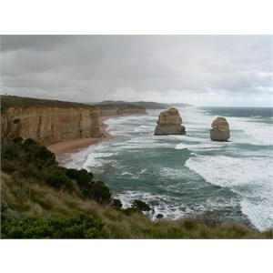Twelve Apostles, next morning, looking east