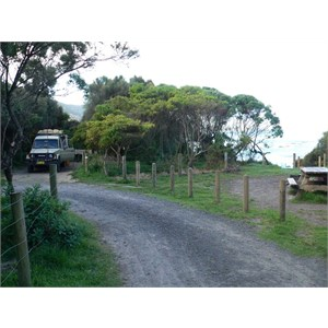 Blanket Bay campsite - very sheltered