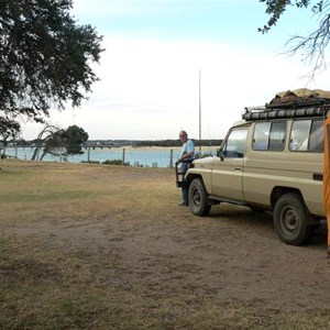 Our camp at Barwon Heads CP