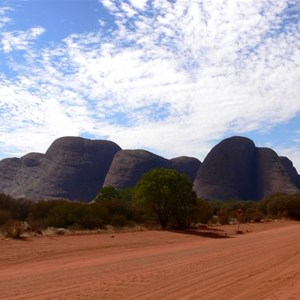 Kata Tjuta from the western side