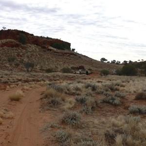 Hann's Tabletop Hill