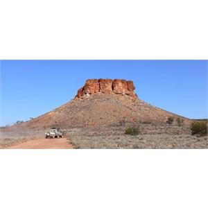 Striking mesa in Morton Craig Range