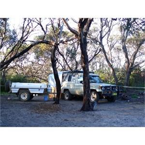 Camp at Cape Riche