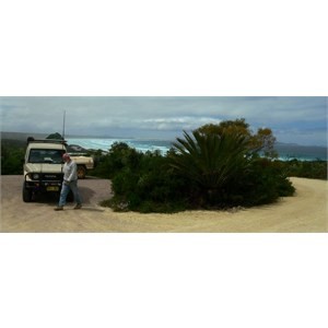 At Cape Arid campground, marvellous views