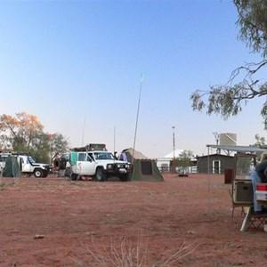 Camped at Old Andado