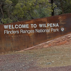 Entering Wilpena Pound