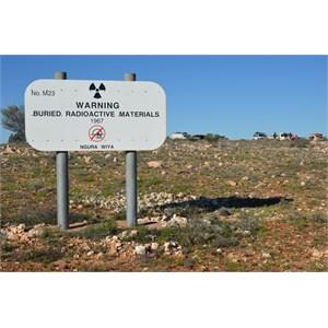 Sign at Marcoo