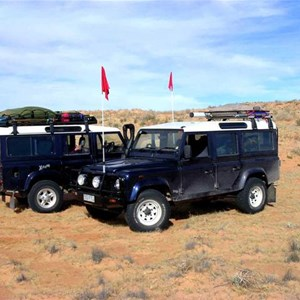 Double-Trouble in the Simpson Desert