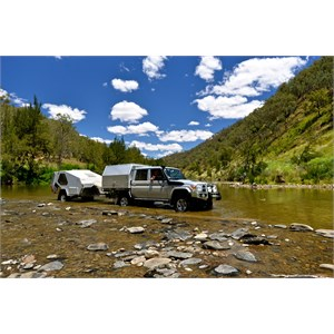 The Landy - Crossing the Macquarie River