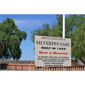 Silverton Gaol, now a Museum, Silverton, NSW