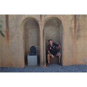 Not so public toilets, Silverton Gaol, NSW