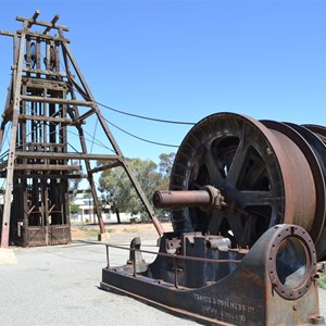 Winding Drum, Broken Hill, NSW