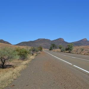 Approaching Flinders Ranges, South Australia