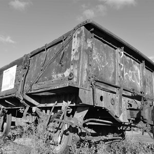 Rail Carriage - Broken Hill