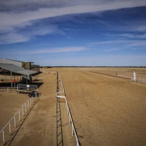 Birdsville Races From the Stewards Box
