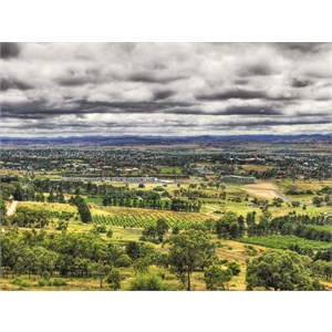 HDR Bathurst From Bricks Skyline