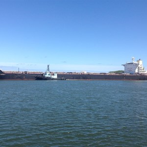 Hunter River maritime traffic