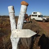 Gibson Desert - Sandy Blight Junction Road - Sir Frederick Range & on to Mt Ebenezer Station