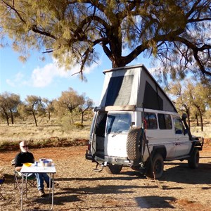 Our outback camp
