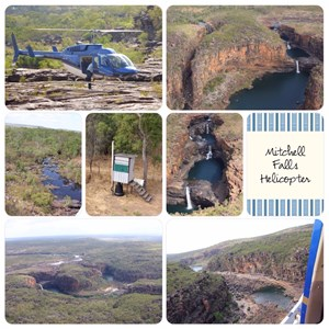 Mitchell Falls Helicopter